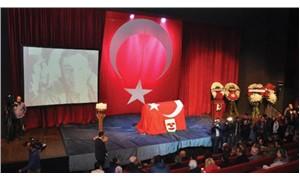 Münir Özkul için Muhsin Ertuğrul Sahnesinde tören