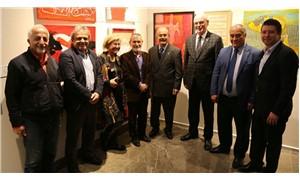 Ahmet Telli şiiri üzerine 'Renkler/ İmgeler/ Sözcükler' sergisi sanatseverlerle buluştu