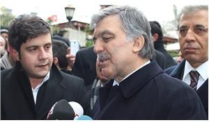 'Abdullah Gül sahaya iniyor' iddiası