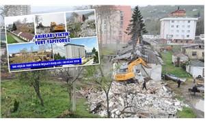 Beşikdüzü Belediyesinden, eski köy enstitüsü binasına 'Ahır' benzetmesi