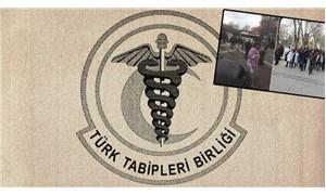 TTB operasyonu sürüyor: Gözaltı ve eyleme saldırı!
