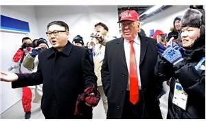 Olimpiyatların açılışına Trump ve Kim Jong-Un kılığında geldiler