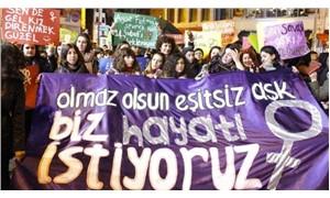 Kadınlardan, 'Sevgililer Günü' protestosu: Olmaz olsun eşitsiz aşk