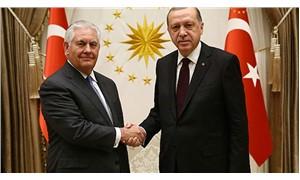 Cumhurbaşkanı Erdoğan, ABD Dışişleri Bakanı Tillerson ile görüştü