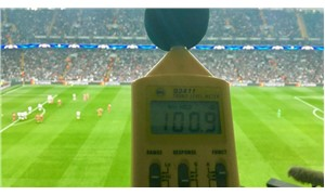 Beşiktaş-Bayern maçında desibel ölçümü
