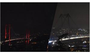 İstanbul 1 saatliğine 'karardı'