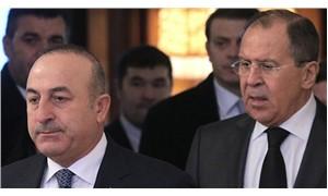 Mevlüt Çavuşoğlu, Rus mevkidaşı Lavrov ile görüştü
