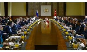 Türkiye-Rusya Üst Düzey İşbirliği Konseyi Toplantısı başladı
