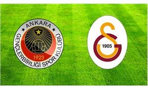 Galatasaray, deplasmanda Gençlerbirliği ile karşılaşıyor