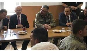 Kılıçdaroğlu, sınırda karakolu ziyaret etti