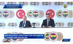 Fenerbahçe: Beşiktaş 3-0 hükmen mağlup sayılması lazım