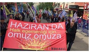 """Yurtta 1 Mayıs coşkusu: """"Halk egemenliği için omuz omuza!"""""""