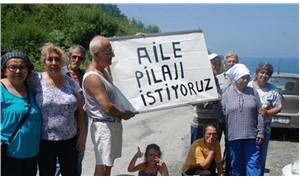 Kadınlar plajı genişledi, yazlıkçılar tepkili