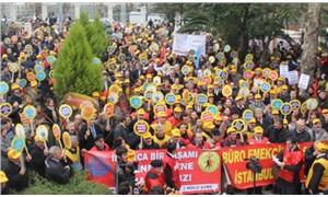 BES üyelerine silahlı tehdide protesto