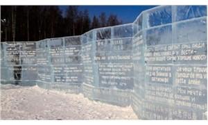 Dünyanın ilk buzdan kütüphanesi