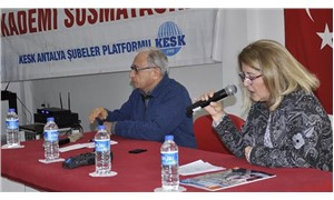 Antalya Akademi ile hesaplaşma konferansı