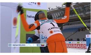 Dünyanın en kötü kayakçısı: Daha önce hiç kar görmedim