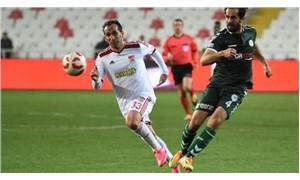 Sivasspor - Konyaspor maçında gol sesi çıkmadı