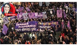 Kadınlar erkek devletine karşı mor isyan bayrağı açtı: Dönüşü yok!