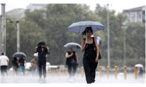 Meteoroloji açıkladı, sağanak yağış etkili olacak
