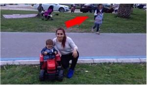 Hırsız, piknik fotoğrafında ortaya çıktı