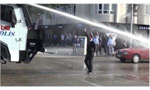 Referandumda HAYIR diyeceğini açıklayan Furkan Vakfı üyelerine polis müdahalesi