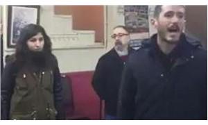 Kahvehanede yapılan laiklik konuşmasına tahliye