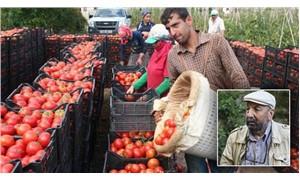 Çiftçi Sen Başkanı Abdullah Aysu: 10 liralık domatesin 9 lirası aracının cebinde