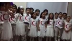 'Reading day' activity at a public school in Turkey: an Islamic hymn