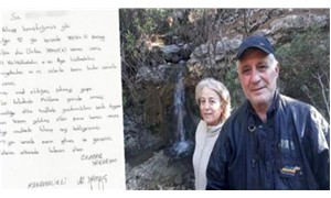 Çevreci çift cinayetinde flaş mektup