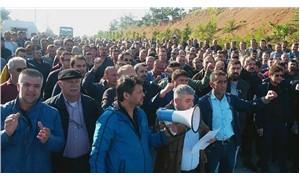 Grevi yasaklanan Şişecam işçileri eylemlere başladı: İşçiler fabrikaları terk etmedi