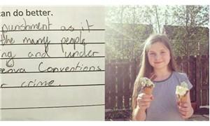 Öğrencinin öğretmenine verdiği cevap sosyal medyada olay yarattı