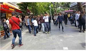 Gülmen ve Özakça tişörtü giyen Karadağ ve Saçılık gözaltına alındı