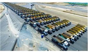Doğayı yağmalayan şirketten 1453 kamyonla tur