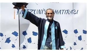 70 yaşında üniversiteyi bitirdi