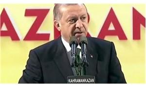 Erdoğan: Dost bildiklerimize sesleniyoruz, o terörist başını bize verin