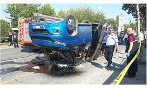 Başkentte minibüs kazası; 17 yaralı