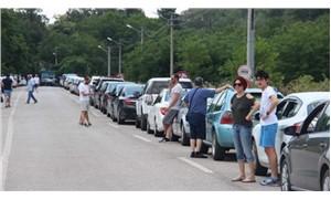 Yunanistan ve Bulgaristan sınırında bayram yoğunluğu