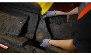 Metro inşaatında arkeolojik kalıntılar bulundu