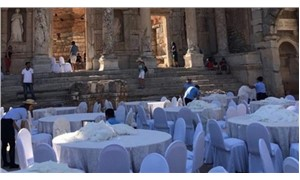 Ancient city of Ephesus in Turkey rented out by local municipality for private organizations