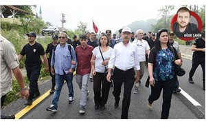 Families of young people killed in Gezi join the Justice March in Turkey