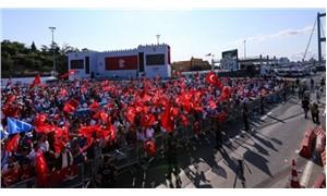 Millions gather at Bosporus Bridge of Turkey to mark anniversary of failed putsch