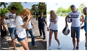 Hero tişörtü giyen genç çift üniversitede gözaltına alındı