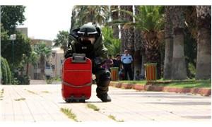 Kırmızı valizli bomba paniği!