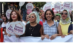 Women in Turkey hold a march in the face of increased violence over their 'outfits'