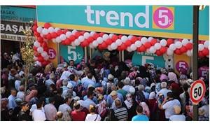 'Ne alırsan 5 lira' kampanyası izdiham yarattı