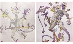 Anime sanatçısı baba, çocuklarının çizimlerini üst düzey animelere dönüştürmeye devam ediyor