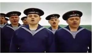 Rus askeri korosunda şaşırtan Erdoğan benzerliği