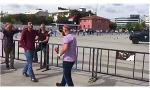 Beyaz TV muhabirinden Cumhuriyet davası öncesi provokasyon!