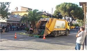 Çöp kamyonunun ezdiği alzheimer hastası hayatını kaybetti